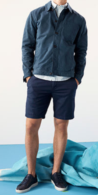 the perfect length for mens shorts style