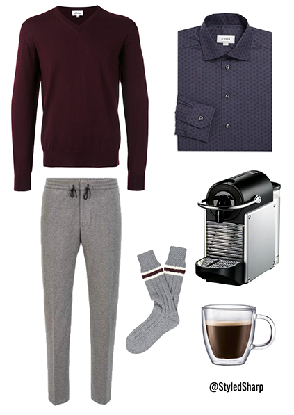work from home outfit for men